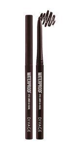 Divage Eyeliner & Kajal Waterproof 06 Chocolate Brown