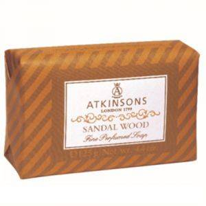 Atkinsons Fine Perfumed Soaps 125g Sandal Wood