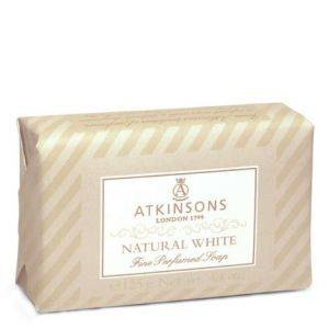 Atkinsons Fine Perfumed Soaps 125g Natural White