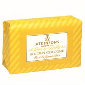 Atkinsons Fine Perfumed Soaps 125g Golden