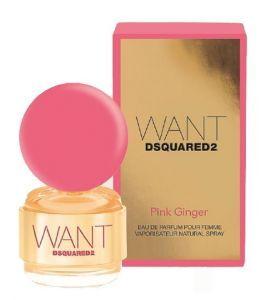 Dsquared2 Want Dsquared Pink Ginger 30 ml Spray, Eau de Parfum