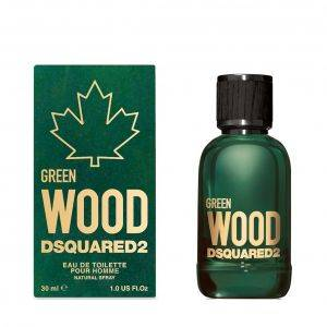 Dsquared2 Green Wood Dsquared2 Pour Homme 30 ml Spray, Eau de Toilette