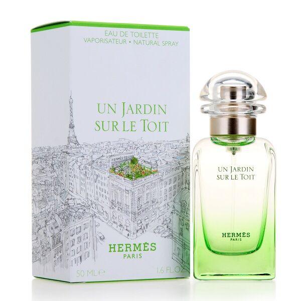 Hermes Un Jardin SUR LE TOIT Hermes 50 ml Spray, Eau de Toilette