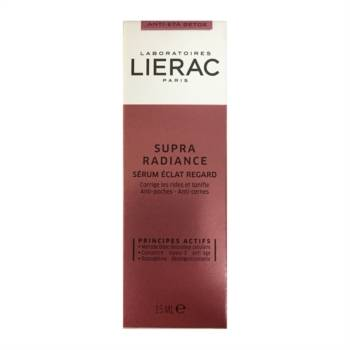 Lierac Linea Supra Radiance Sérum Éclat Regard Siero Borse ed Occhiaie 15 ml