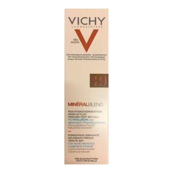 Vichy Make-up Linea Mineralblend Fondotinta Idratante Fluido 30 ml 01 Clay