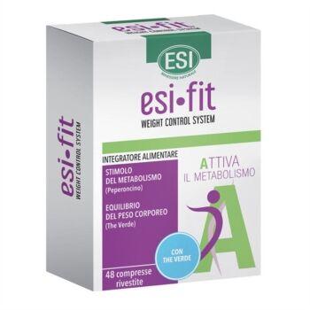 Esi Linea Controllo del Peso Fit Attiva Metabolismo Integratore The Verde 48 Cpr