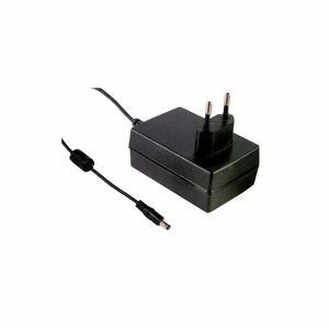 GSM18E07-P1J - Alimentatore Meanwell - Wallmount 18W 7,5V - Ingresso 100-240 VAC