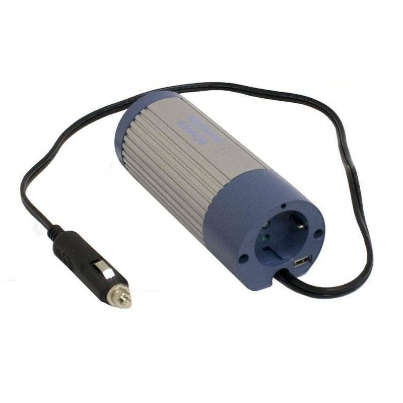 A302-100-F3 - Inverter MeanWell 100W - In 24V Out 220 VAC Onda Sinusoidale Modif