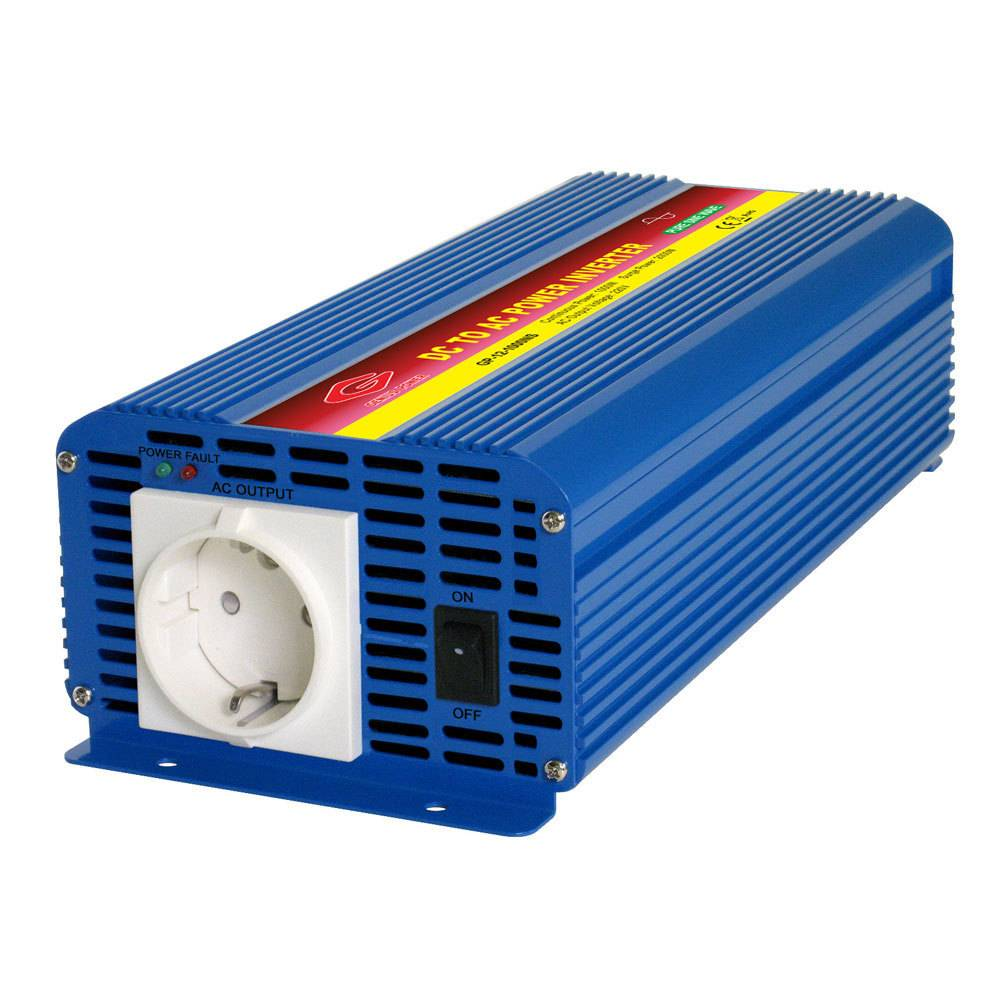 AP24-1000NS - Inverter Alcapower 1000W - In 24V Out 220 VAC Onda Sinusoidale Pur