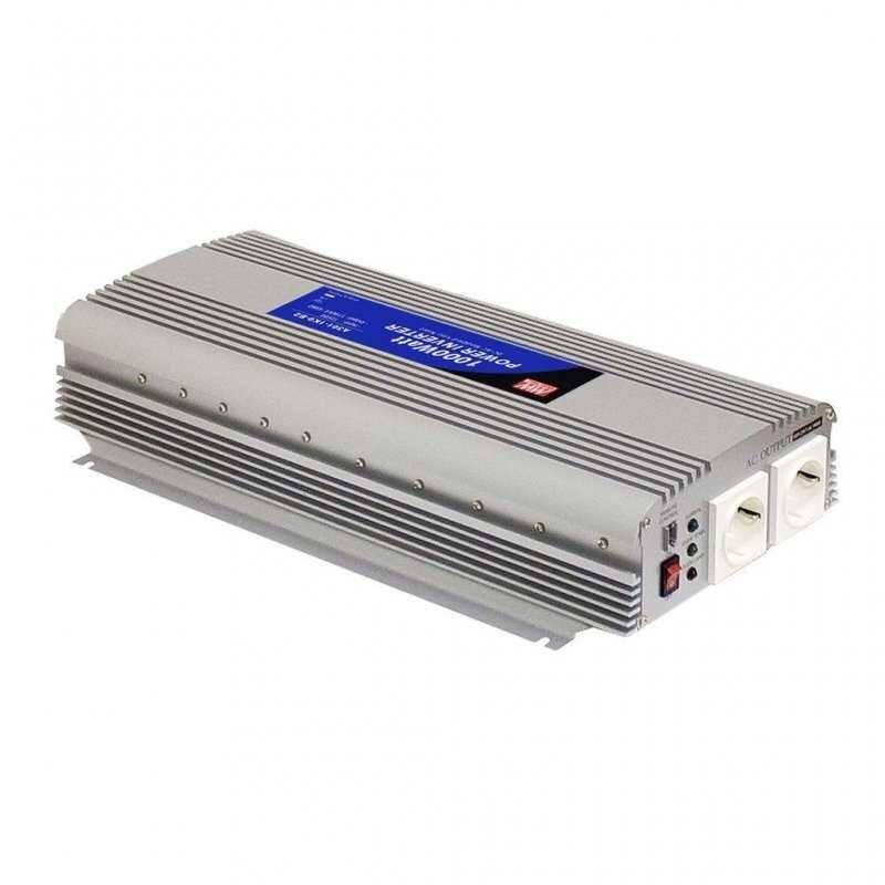 A302-1K7-F3 - Inverter MeanWell 1500W - In 24V Out 220 VAC Onda Sinusoidale Modi