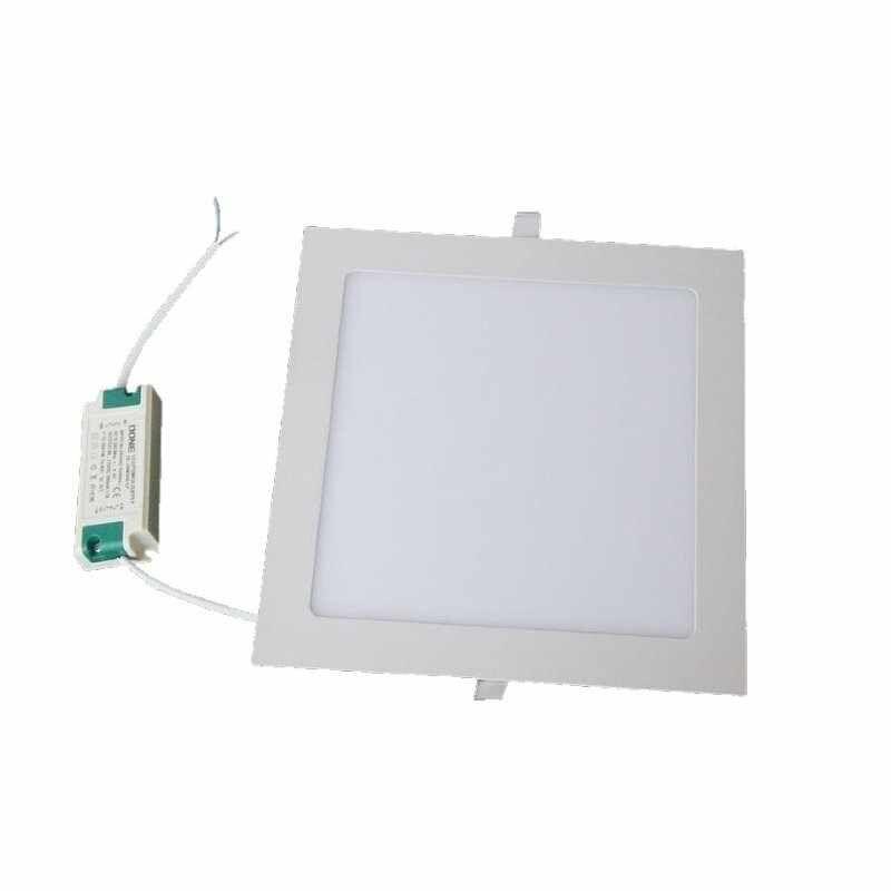 Faretto Incasso Slim LED Quadrato 6W / IP44 / 585 Lm Max / 120x120mm