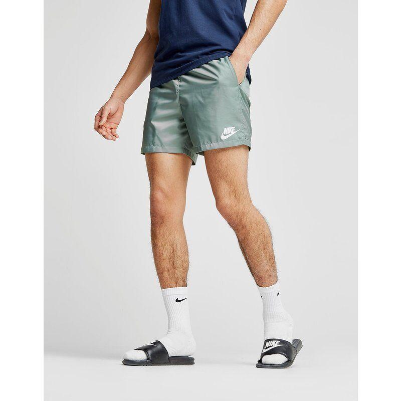 Nike Flow Costume da Bagno, Verde