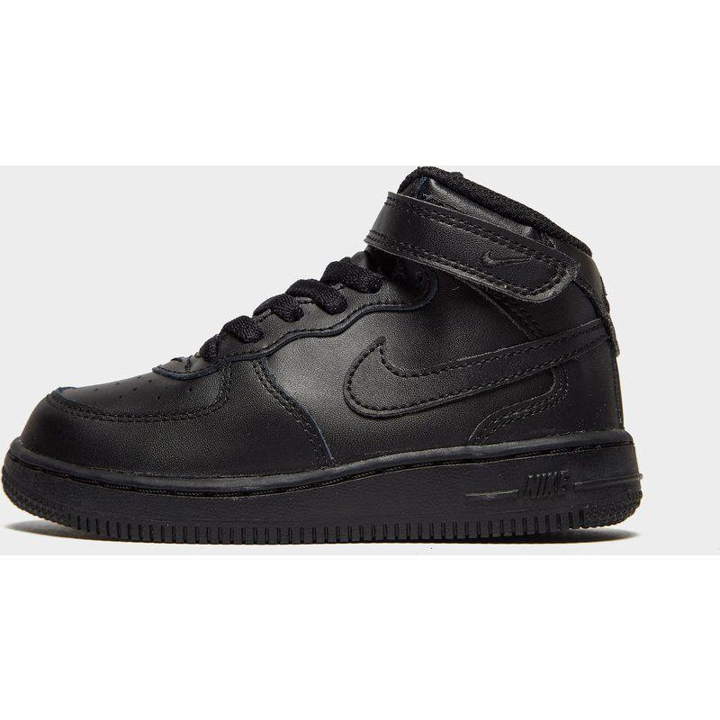 Nike Air Force 1 Mid Bebè, Nero