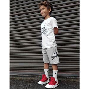 Jordan Jumpman Completo T-Shirt e Shorts Bambino, Bianco