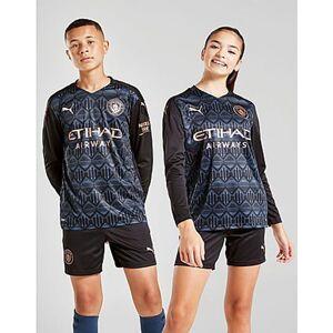Puma Manchester City 20/21 Maglia Away Junior, Black/Blue
