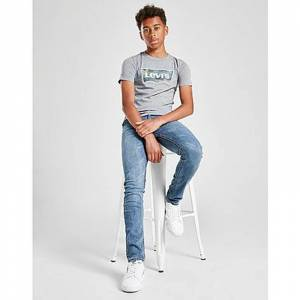 Levis 510 Skinny Jeans Junior, Blue