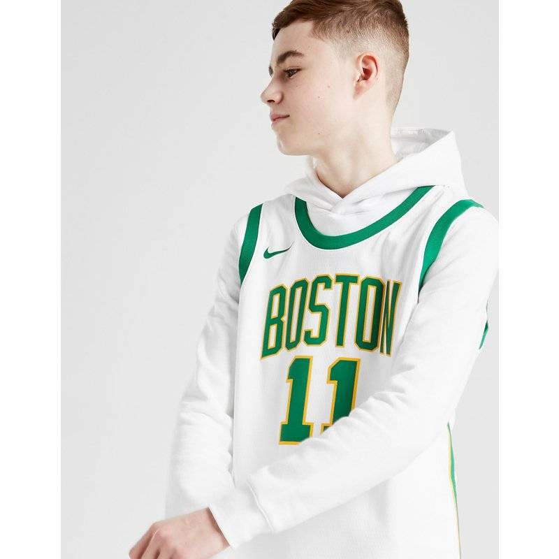 Nike NBA Boston Celtics LaVine City Jersey Junior, Bianco