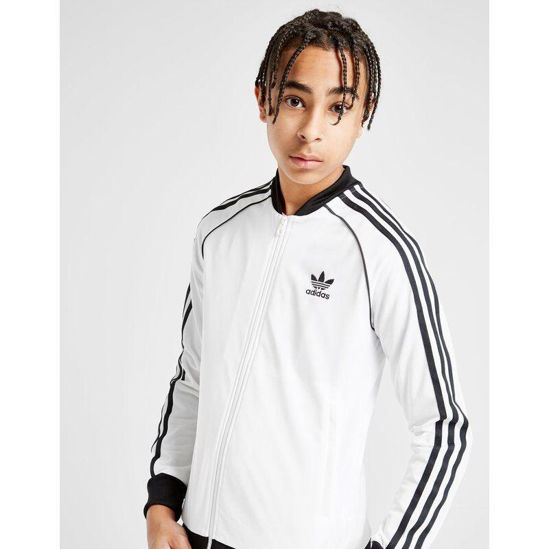 Adidas Originals Superstar Track Top Junior, Bianco