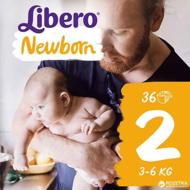 Essity Italy Spa Libero Newborn Taglia 2 36 Pannolini