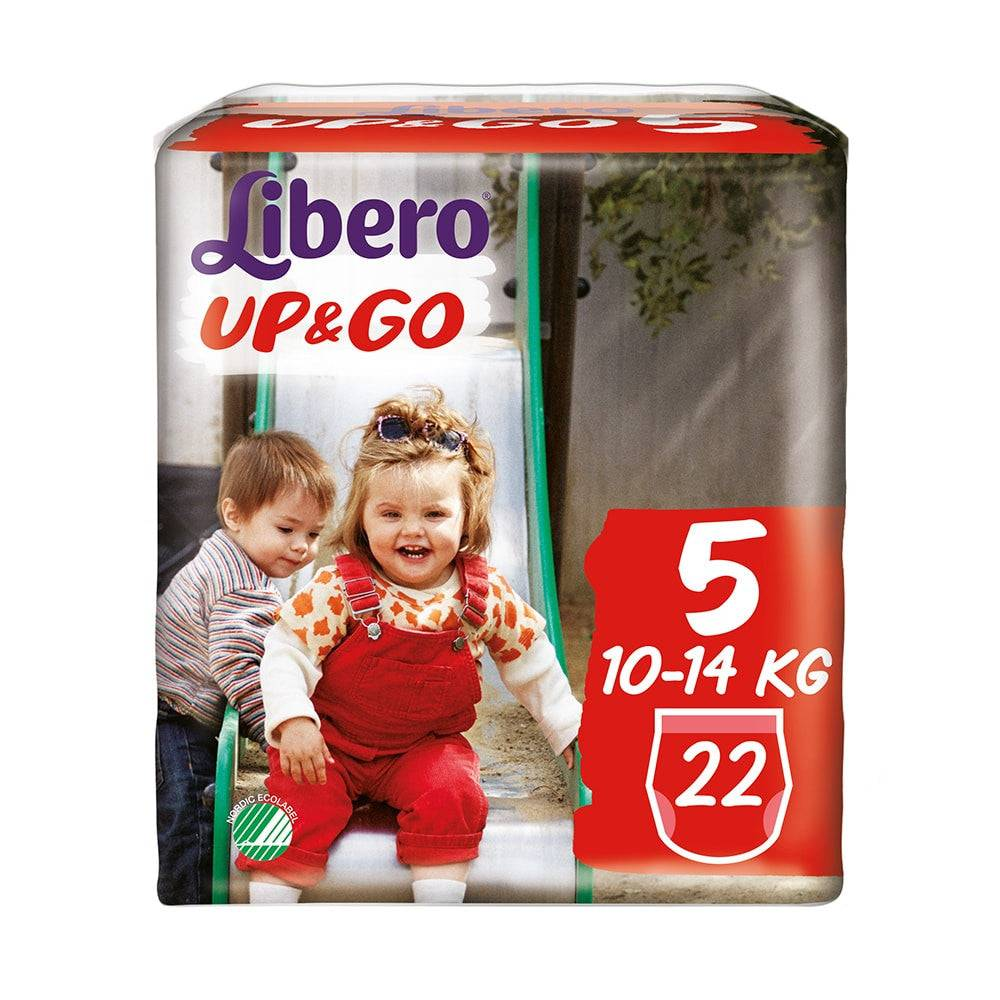 Essity Italy Spa Libero Up&Go Pannolino 5 10-14 kg 22pz