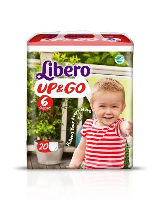 Essity Italy Spa Libero Up&Go misura 6 13-20 kg 20 Pezzi