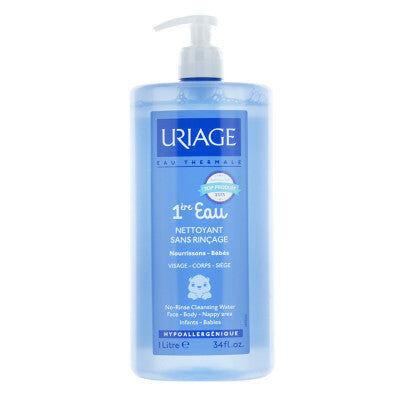 Uriage Laboratoires Dermatologique Uriage Premiere Bebè Eau Acqua Detergente ed Idratante 1000 ml