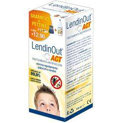 F & F Srl Lendinout Act shampoo antipidocchi 150ml