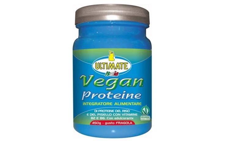 Ultimate Italia Vegan Proteine 450g fragola
