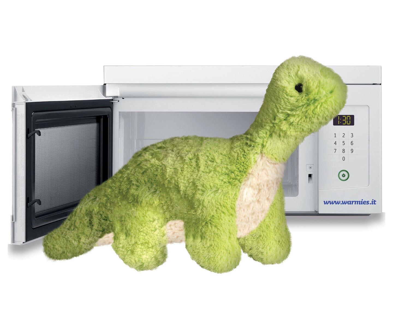 T Tex Srl Warmies Brontosauro - Peluche Termico