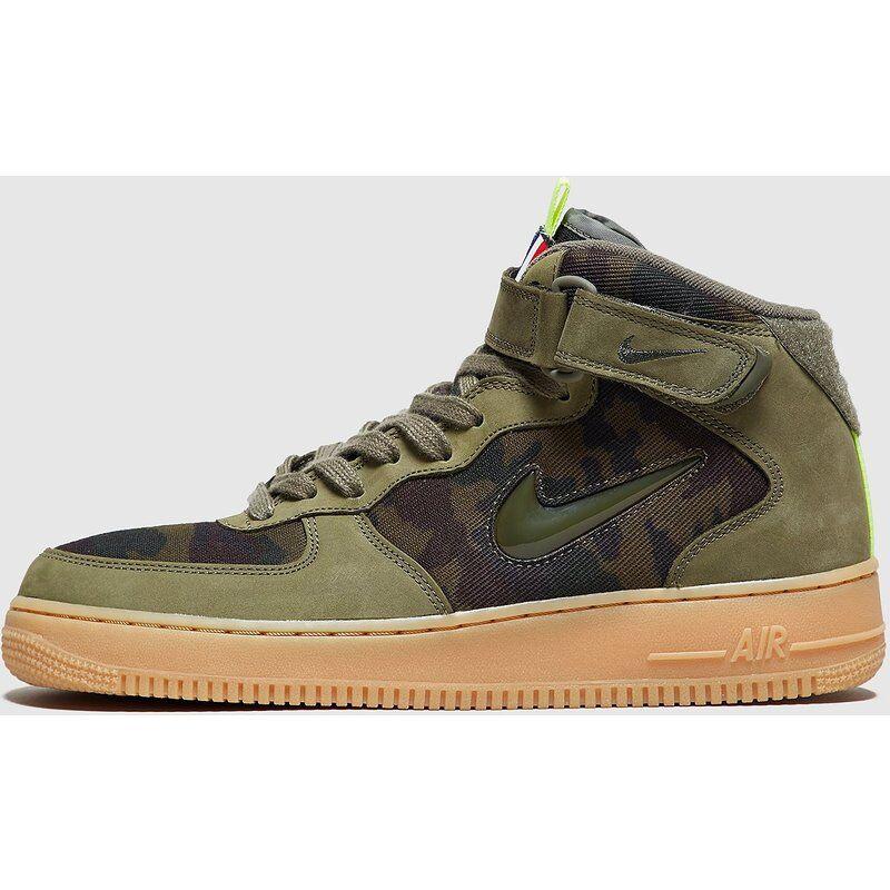 Nike Air Force 1 Jewel Mid, Verde
