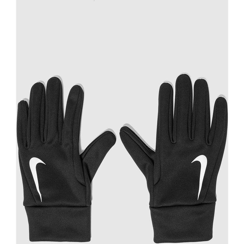 Nike Guanti Hyperwarm Field Player, Nero