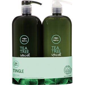 Paul Mitchell Cura dei capelli Tea Tree Special Risparmia tanto sui duo Tea Tree Special Shampoo 1000 ml + Tea Tree Special Conditioner 1000 ml 1 Stk.