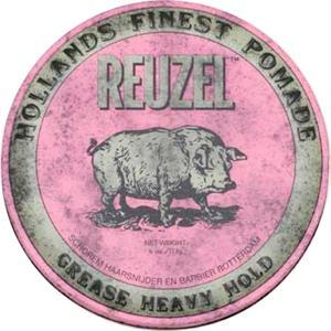 Reuzel Cura per uomo Hairstyling Pomata rosa 113 g