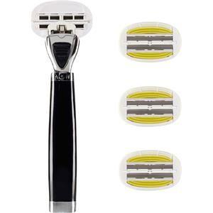 Shave Lab Rasoio femminile Aon Starter Set Black Edition P.L.6+ Manico + 4 lame 1 Stk.