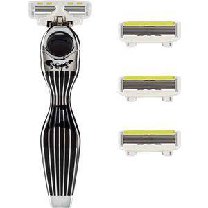 Shave Lab Rasoio femminile Seis Starter Set Black Edition P.L.6 Manico + 4 lame 1 Stk.