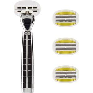 Shave Lab Rasoio femminile Tres Starter Set Black Edition P.L.6+ Manico + 4 lame 1 Stk.
