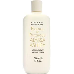Alyssa Ashley Profumi femminili Essence De Patchouli Lozione mani e corpo 500 ml