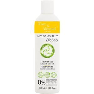 Alyssa Ashley BioLab Fiori di tiaré e latte di mandorle Shower Gel 300 ml