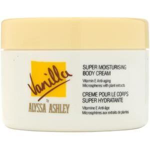 Alyssa Ashley Profumi femminili Vanilla Crema per il corpo 250 ml