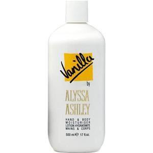 Alyssa Ashley Profumi femminili Vanilla Hand & Body Lotion con diffusore 500 ml