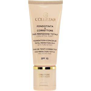Collistar Make-up Carnagione Foundation + Concealer Total Perfection Duo Nr. 0 31,50 ml