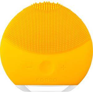 foreo cura del viso spazzole di pulizia luna mini 2 aquamarine 1 stk.