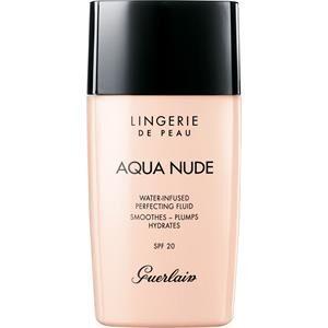 GUERLAIN Make-up Carnagione Lingerie de Peau Aqua Nude Foundation Nr. 01W 30 ml