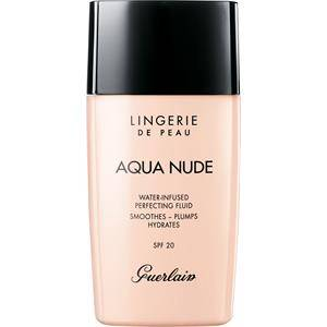 GUERLAIN Make-up Carnagione Lingerie de Peau Aqua Nude Foundation Nr. 01W 30 ml