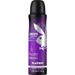 Playboy Profumi femminili Endless Night Deodorant Body Spray 150 ml