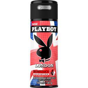 Playboy Profumi da uomo London Deodorant Body Spray 150 ml