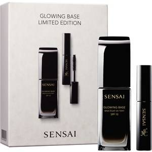 SENSAI Make-up Foundations Foundation Glowing Base Set Glowing Base SPF 10 30 ml + Mascara 38C Lash Volumiser 3,5 ml 1 Stk.