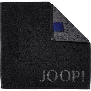 JOOP! Asciugamani Classic Doubleface Mini asciugamano nero 30 x 30 cm 1 Stk.