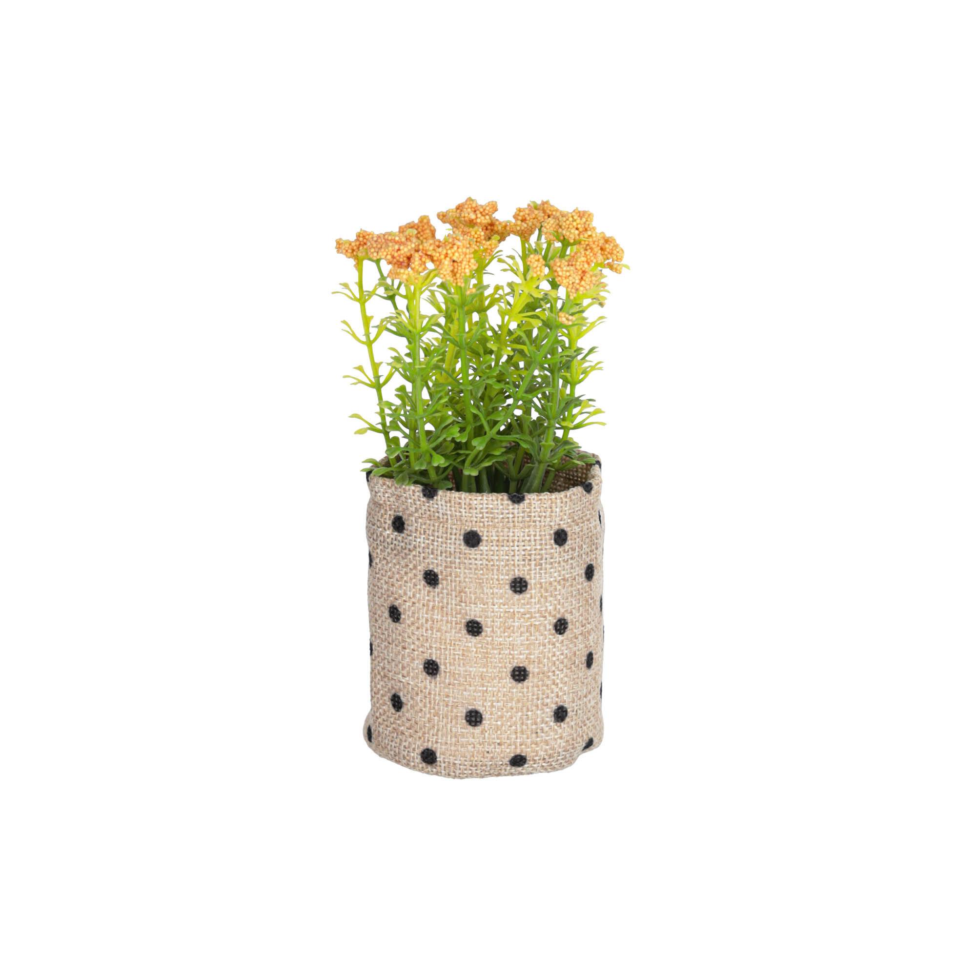 kave home pianta artificiel leonitis leonurus in vaso in raphia