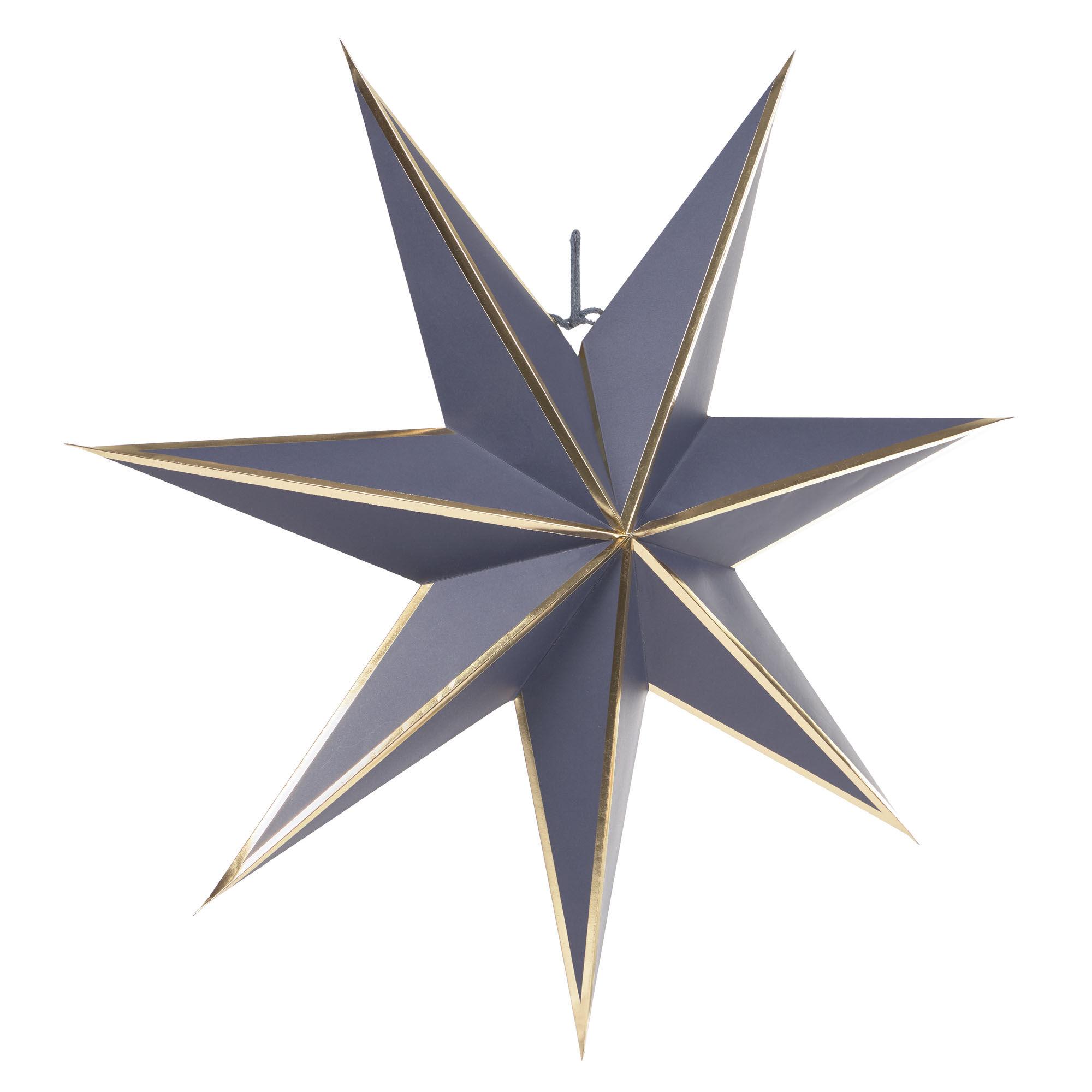 kave home stella decorativa grande da appendere vica azzurra